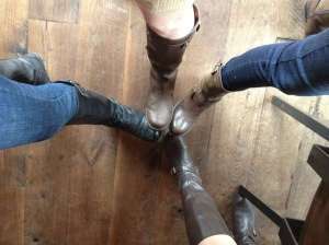 Oh, good. Everyone got the boot memo.
