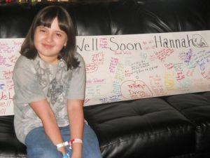 Hannah in August 2012.
