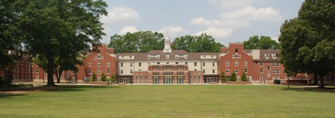 Back of renovated Myers Hall and quad. courtesy collinscoopercarusi.com