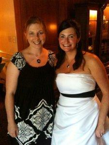 Becky's wedding reception 2010.