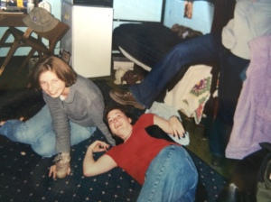 In the dorm -- Myers Hall at UGA -- in 1998.